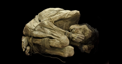 Mummified male body